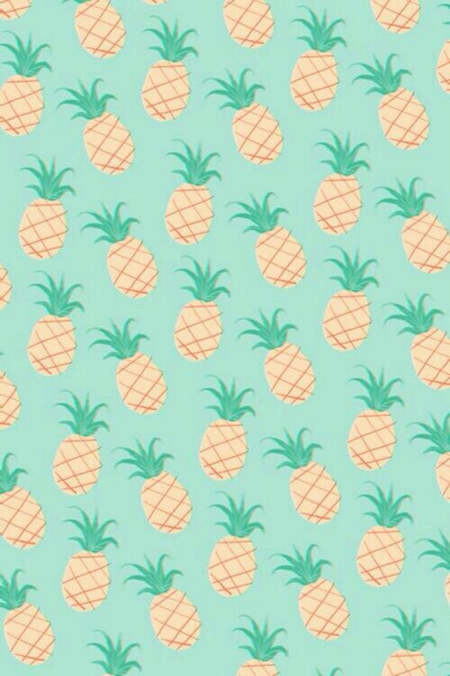 Pineapple Pastel IPhone Background Discovered By KriThika18