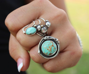 rings, accessories, and stone image
