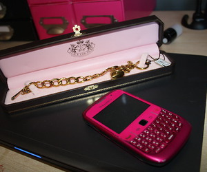 blackberry, pink, and juicy couture image
