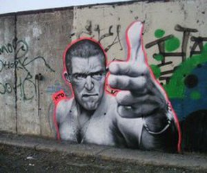 hate, odio, and street art image