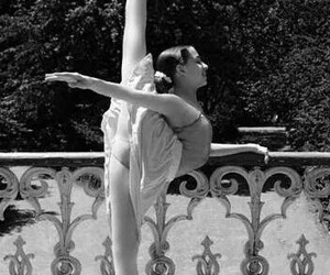 ballet, black and white, and dreams image