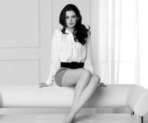 Anne Hathaway, hair, and sweet image