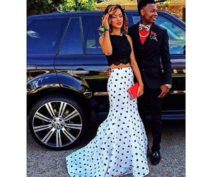 black girl, couple, and Prom image