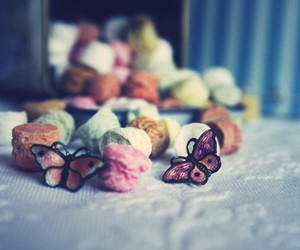 butterfly, candy, and earrings image