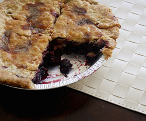 cherry pie, dessert, and sweets image