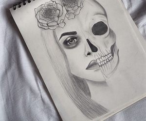 drawing, draw, and grunge image