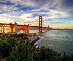 beautiful, bridge, and golden gate bridge image