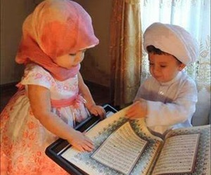 quran, baby, and islam image