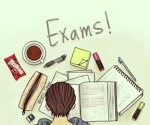 exam, study, and school image