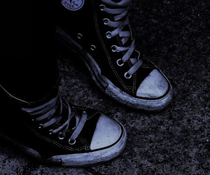 black and white and converse image