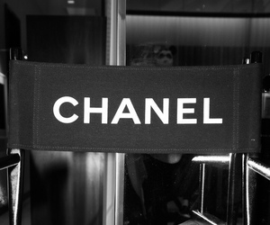 chanel, fashion, and chair image
