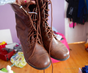 shoes, boots, and brown image