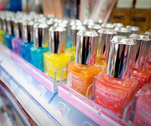 nails, nail polish, and colorful image