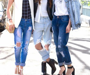 denim, fashion, and girls image