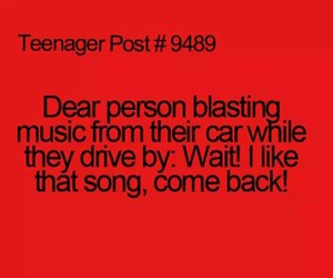 car, music, and come back image