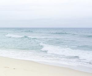 blue, sky, and sea image