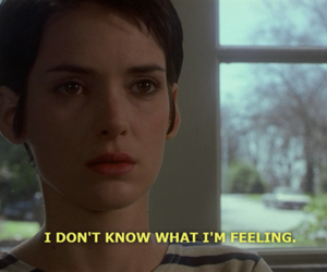 quote, girl interrupted, and black and white image