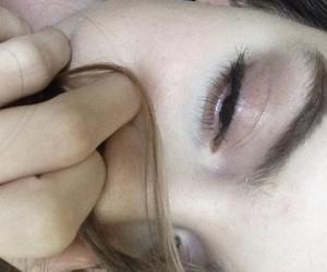 eyeliner, eyes, and face image