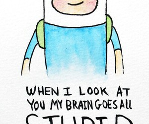finn, adventure time, and love image