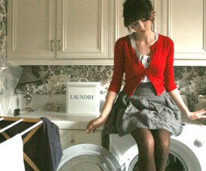 laundry, fashion, and red image