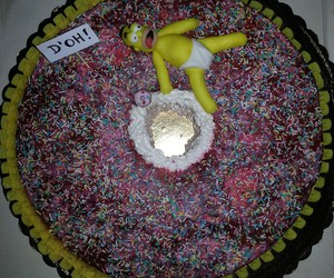 cake, dolci, and donuts image