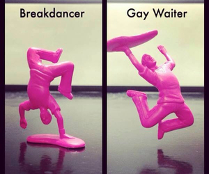 breakdance, gay, and pink image