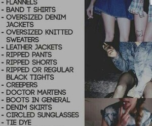 bands, grunge, and indie image