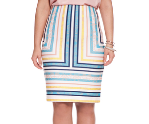 skirt, trendy plus-size, and eloquii image