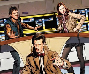 doctor who, enterprise, and crossover image