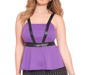 top, eloquii, and plus-size clothes image