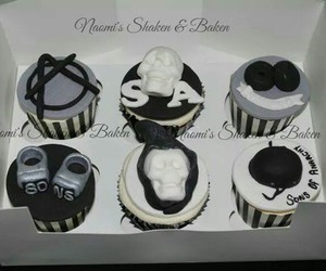 cupcakes, design, and style image