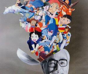 Hayao Miyazaki, anime, and Miyazaki image