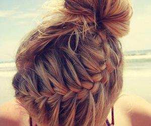 beach, medium, and braid image
