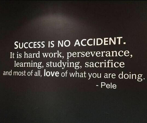 quotes, success, and Pele image