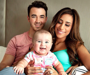 kevin jonas, baby, and family image