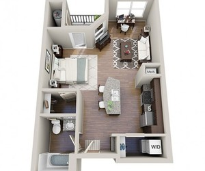 apartment, house, and interior image