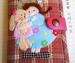 quilt, applique, and กระเป๋าผ้าทำมือ image