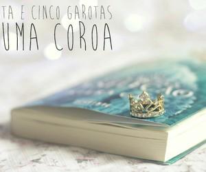 book, coroa, and princess image