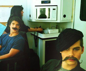 backstage, funny, and teen wolf image