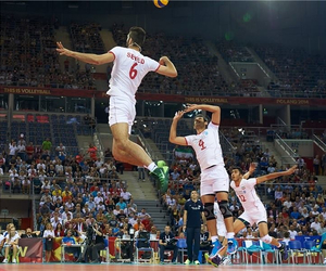 iran and volleyball image