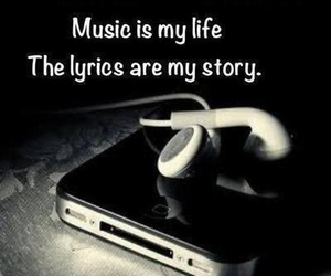 music, life, and Lyrics image
