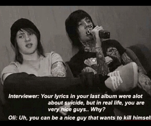 bring me the horizon, oli, and bmth image