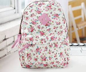 bag, cute, and backpack image