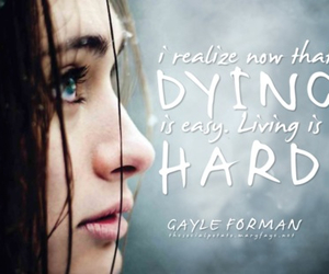 dying, if i stay, and Easy image