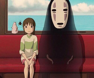 chihiro, anime, and spirited away image