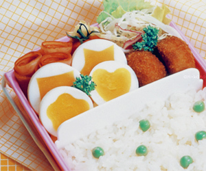 bento, cute, and delicious image