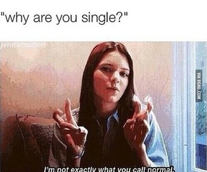 funny, single, and lol image
