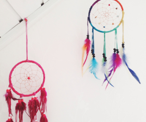 bedroom, dreamcatcher, and dreams image