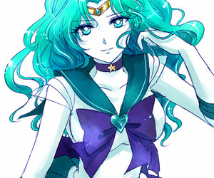 sailor moon, anime, and neptune image