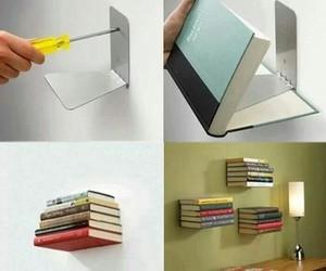 book, diy, and shelf image